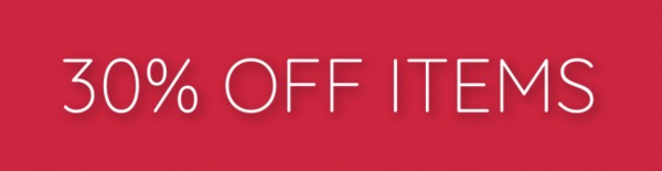 30% Off Items