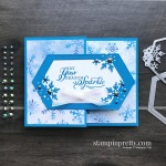 Create this fancy fold gift card holder using products from the Stampin