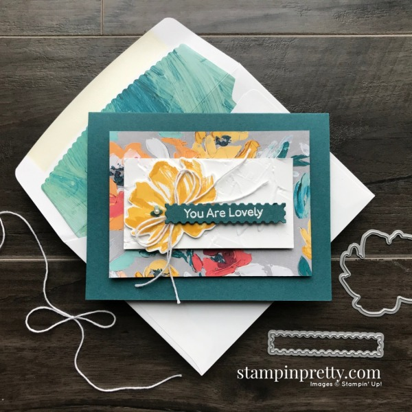 Fine Art Floral Sneak Peek - Suite by Stampin' Up! Card by Mary Fish, Stampin' Pretty