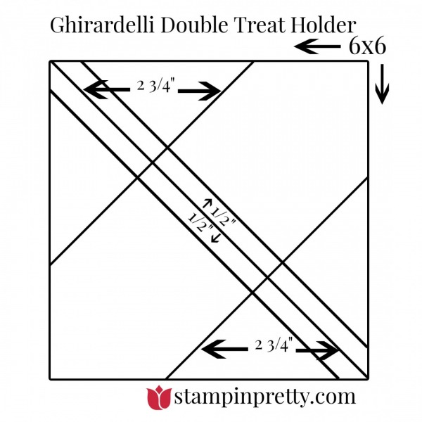 Ghirardelli Double Treat Holder