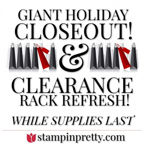 Giant Holiday Closeout & Clearance Rack