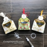 Oh, What Yum! Ghirardelli Double Treat Holders for Christmas - Stampin