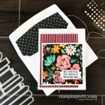 SNEAK PEEK! Many Messages Bundle and Flower & Field Designer Series Paper. Card by Mary Fish, Stampin