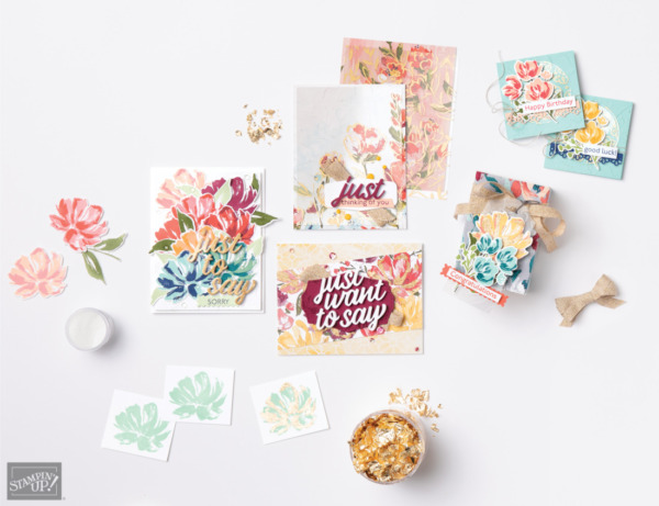 Fine Art Floral Suite from Stampin' Up!