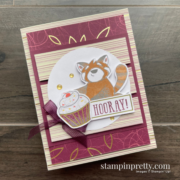 Beary Comforting December 2020 Paper Pumpkin Alternate #2 Mary Fish, Stampin' Pretty