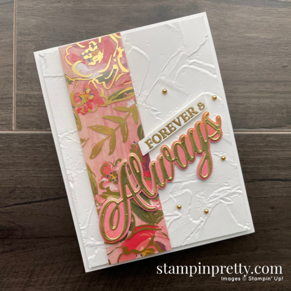 Fine Art Floral Suite Collection and Forever & Always Bundle from Stampin' Up! Card by Mary Fish, Stampin' Pretty