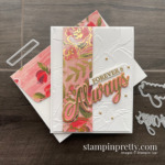 Fine Art Floral and Forever & Always a Pair Perfectly. Card by Mary Fish, Stampin