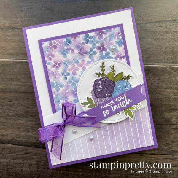 Hydrangea Hill Suite Designer Series Paper by Stampin' Up! Mary Fish, Stampin' Pretty