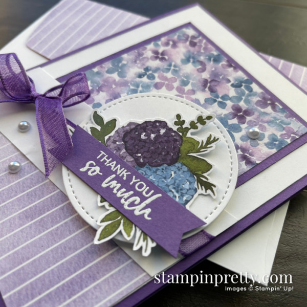 Hydrangea Hill Suite and Designer Series Paper by Stampin' Up! Mary Fish, Stampin' Pretty