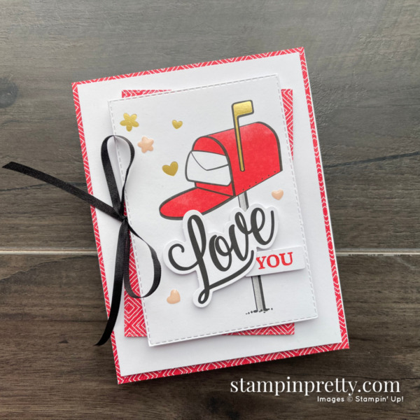 January 2021 Sending Hearts Paper Pumpkin Alternate #1 Mary Fish, Stampin' Pretty
