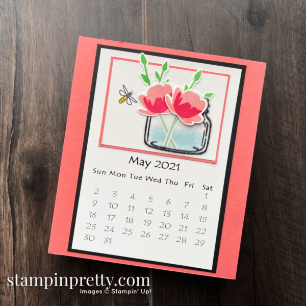 Linda White's Annual 2021 Calendar Shared by Mary Fish, Stampin' Pretty - May