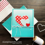 Lots of Heart Bundle and Oh So Ombre DSP from Stampin