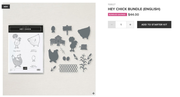 Hey Chick Bundle from Stampin' Up!