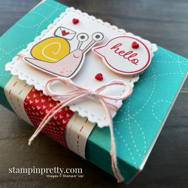 Snailed It Bundle by Stampin' Up! Gift Box by Stampin' Pretty, Mary Fish