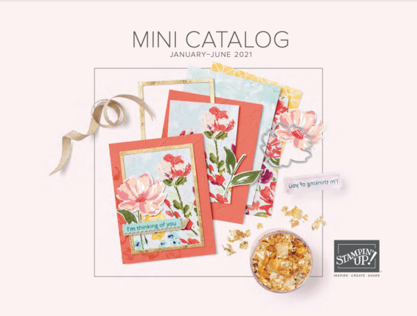 Stampin! Up! 2021 January - June Mini Catalog Cover