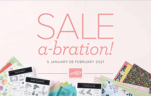 Stampin' Up! 2021 Sale-a-Bration Promotion Brochure