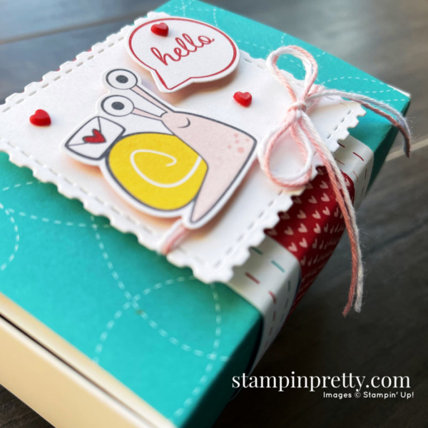 Stampin' Up! Snailed It Bundle Love You Always Treat Box by Mary Fish, Stampin' Pretty (1)