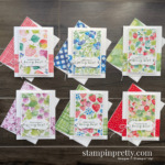 Berry Blessings & Berry Delightful Designer Series Paper - Free with $100 Purchase during Sale-a-Bration - Ends February 28, 2021 - Mary Fish, Stampin