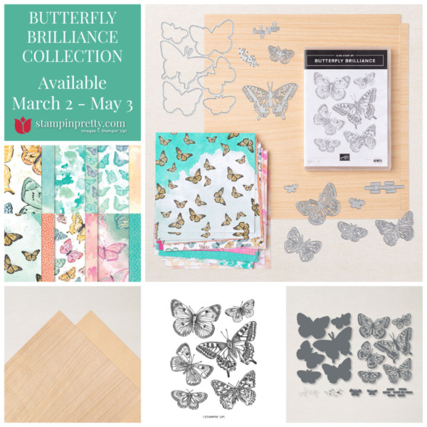Butterfly Brilliance Collection 159408 $71.25 from Stampin' Up! Purchase from Mary Fish, Stampin' Pretty