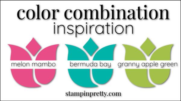 Color Combinations Melon Mambo, Bermuda Bay, Granny Apple Green