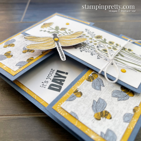 Dandy Garden Suite Collection from Stampin' Up! Birthday Card by Mary Fish, Stampin' Pretty