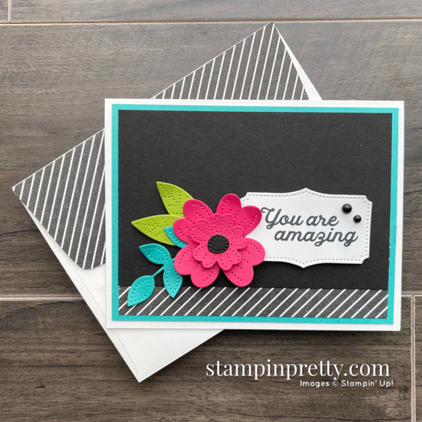 In Bloom Bundle from Stampin' Up! Amazing Card by Mary Fish, Stampin' Pretty