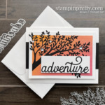 Silhouette Scenes Stamp Set and Sweet Silhouette Dies from Stampin