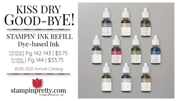 Stampin' Up! Classic Stampin' Ink Refills Dye-Bassed Ink Purchase from Mary Fish, Stampin' Pretty