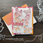 Beauty Abounds Stamp Set and Butterfly Beauty Dies Retiring From Stampin
