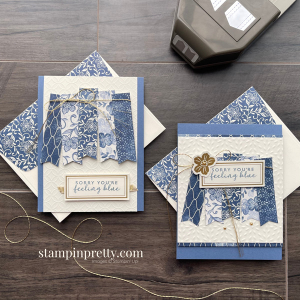 Boho Indigo Product Medley from Stampin' Up! Card Duo - Mary Fish, Stampin' Pretty
