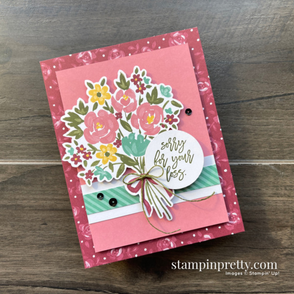 Bouquet of Hope February 2021 Paper Pumpkin Alternate #1 Mary Fish, Stampin' Pretty
