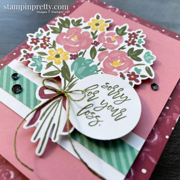 Bouquet of Hope February 2021 Paper Pumpkin Alternate #1 Slant Mary Fish, Stampin' Pretty