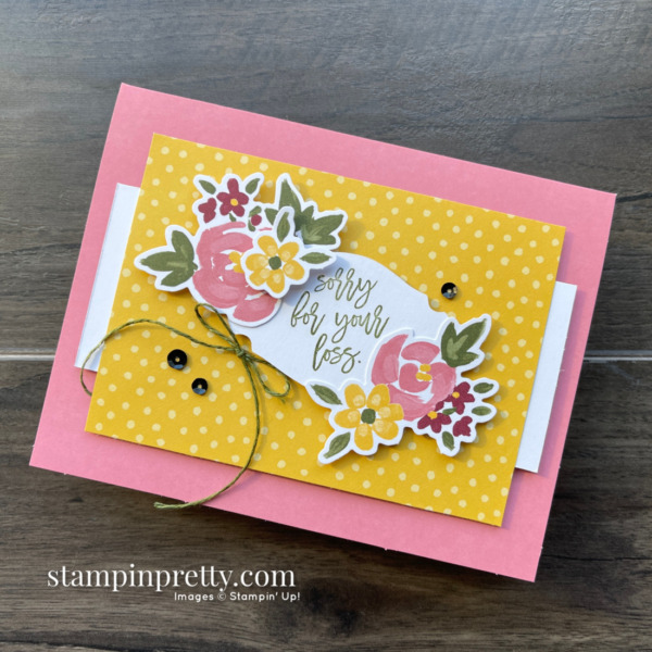Bouquet of Hope February 2021 Paper Pumpkin Alternate #2 Mary Fish, Stampin' Pretty