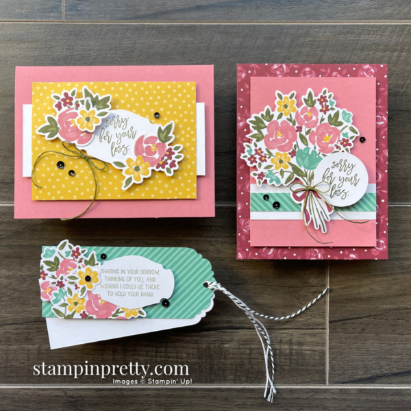Bouquet of Hope February 2021 Paper Pumpkin Alternates Mary Fish, Stampin' Pretty
