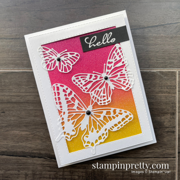 Butterfly Brilliance Collection Available Today! March 2, 2021. Purchase Online via Mary Fish, Stampin' Pretty