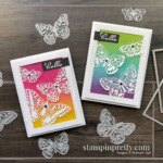 Butterfly Brilliance Collection Available Today! March 2, 2021. Purchase Online via Mary Fish, Stampin