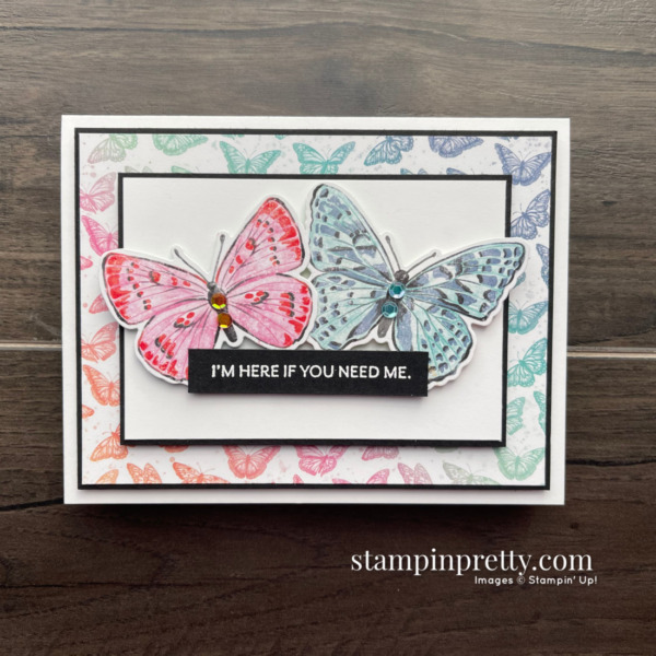 Butterfly Brilliance Collection from Stampin' Up! Card DSP by Mary Fish, Stampin' Pretty (1)