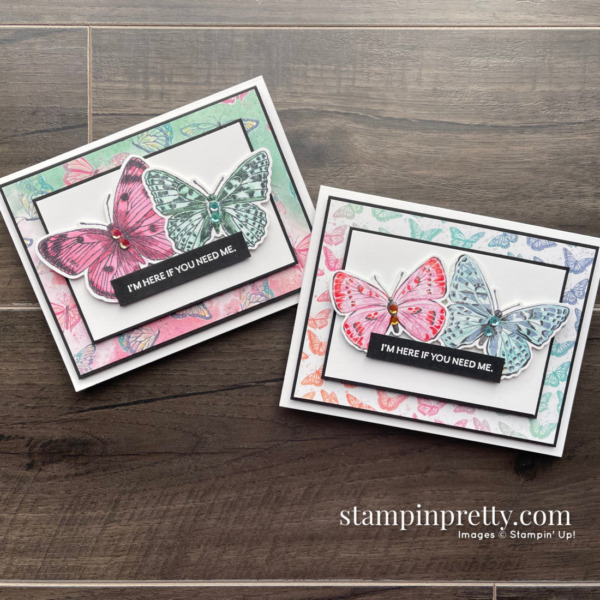 Butterfly Brilliance Collection from Stampin' Up! Cards by Mary Fish, Stampin' Pretty