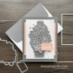 Create this card using the Simply Succulents Bundle from Stampin