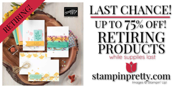 Retiring Annual Catalog Graphic Last Chance 75% OFf