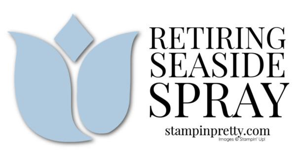 Retiring Stampin' Up! 2019-2021 In Color Seaside Spray