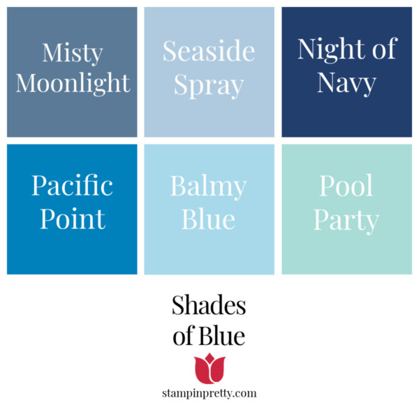 Shades of Stampin' Up! Blue Stampin' Pretty, Mary Fish
