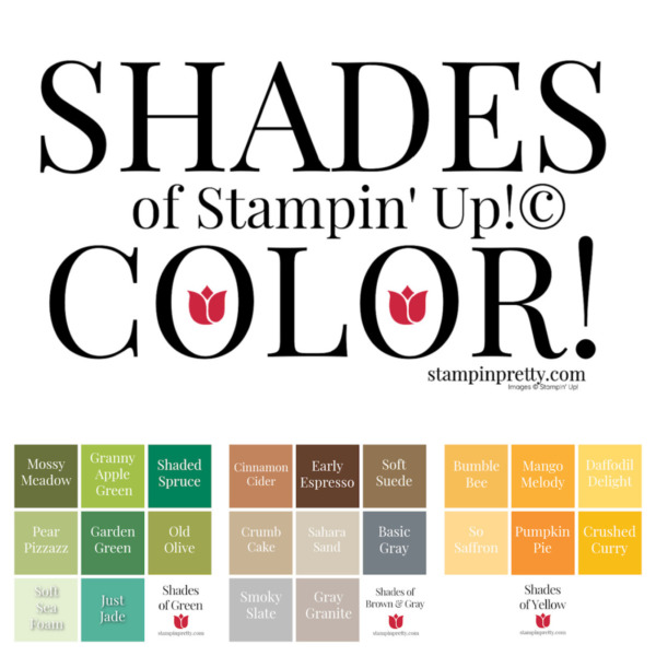 Shades of Stampin' Up! Color - Post