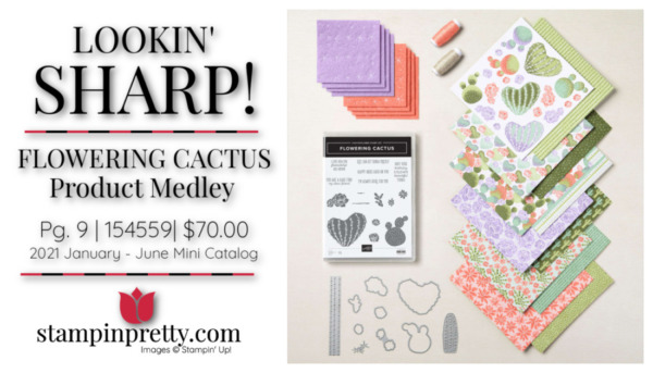 Stampin' Up! Flowering Cactus Product Medley 154559 $70.00 Mary Fish, Stampin' Pretty