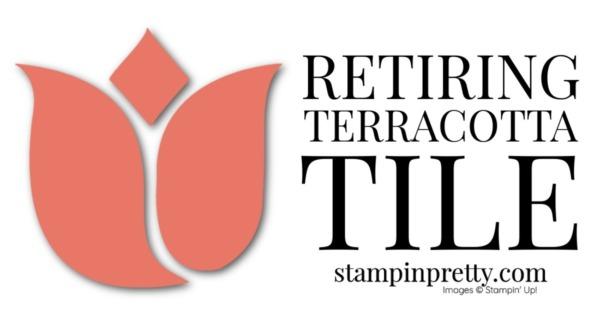 Retiring Stampin' Up! 2019-2021 In Color Terracotta Tile