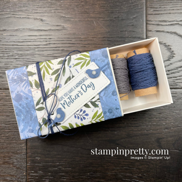 Beauty of the Earth Suite Collection from Stampin' Up! Happy Mothers Day Treat Box by Mary Fish, Stampin' Pretty