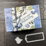 CREATE this Love You Always Treat Box with Beauty of the Earth Suite and Tailor Made Tag Dies from Stampin