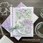 SNEAK PEEK! Hand-Penned Suite Collection Item 155503 $66.25 _ Feel Better Friend Card by Mary Fish, Stampin