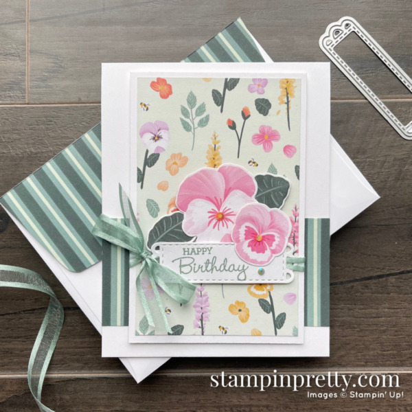 SNEAK PEEK! Pansy Petals Suite Collection from Stampin' Up! Available May 4, 2021 - Mary Fish, Stampin' Pretty