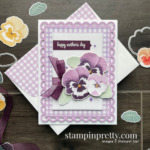 SNEAK PEEK Pansy Petals Suite Collection from Stampin